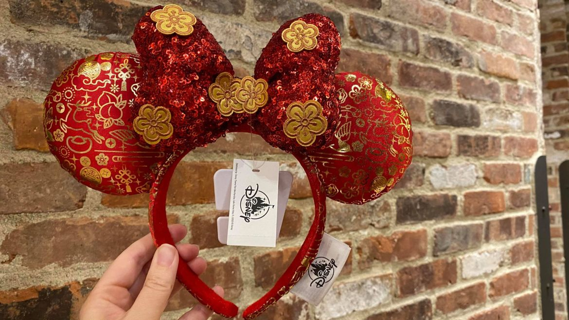 Lunar New Year Minnie Ears And Spirit Jersey Celebrate Year Of The Ox