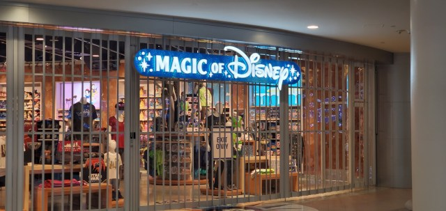 The Magic of Disney store has reopened at the Orlando Airport 1