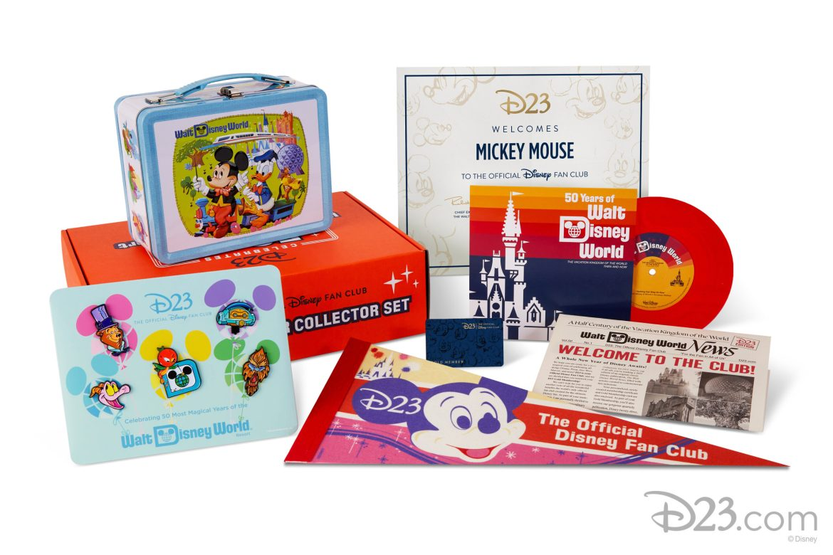 Disney Fans Can Kick Off the New Year with 2021 D23 Gold Member Collector Set