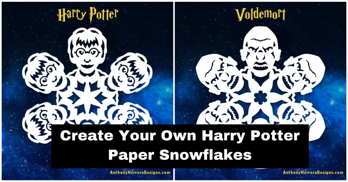 Make Your Own Harry Potter Paper SnowFlakes