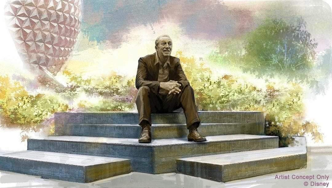 Disney Confirms Walt Disney Statue Coming to Epcot