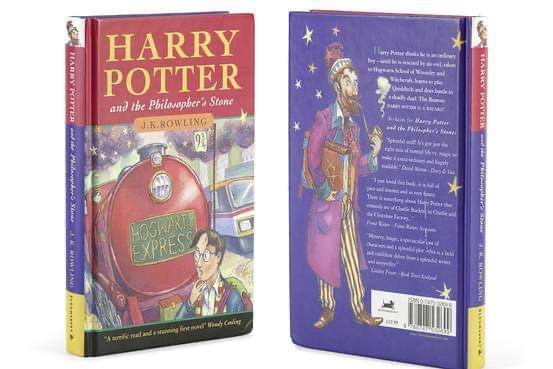 Forgotten Harry Potter First Edition sells for $84,500!