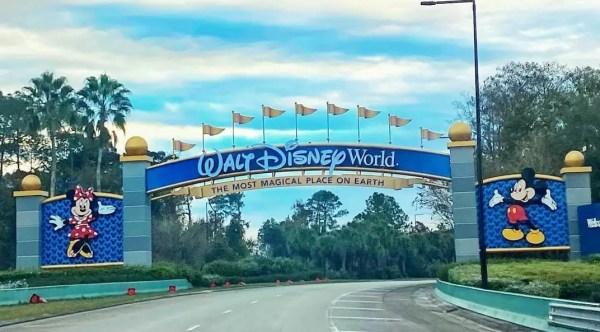 Walt Disney World archway