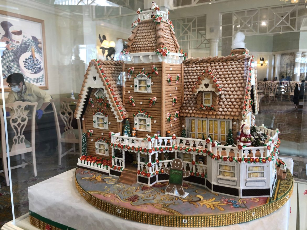 The Grand Floridian Gingerbread House Has Arrived! Sort of…