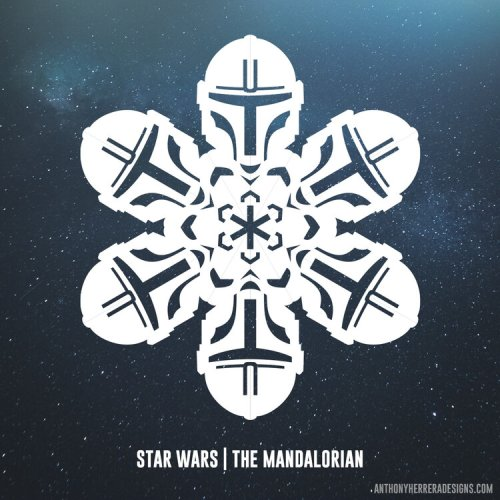 Make your own Star Wars Paper Snowflakes 15