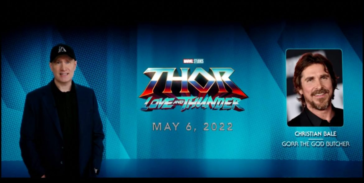 Christian Bale Casting Confirmed for Marvel Studios' 'Thor: Love and Thunder'