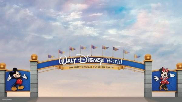 Walt Disney World Archway is Now Complete 1