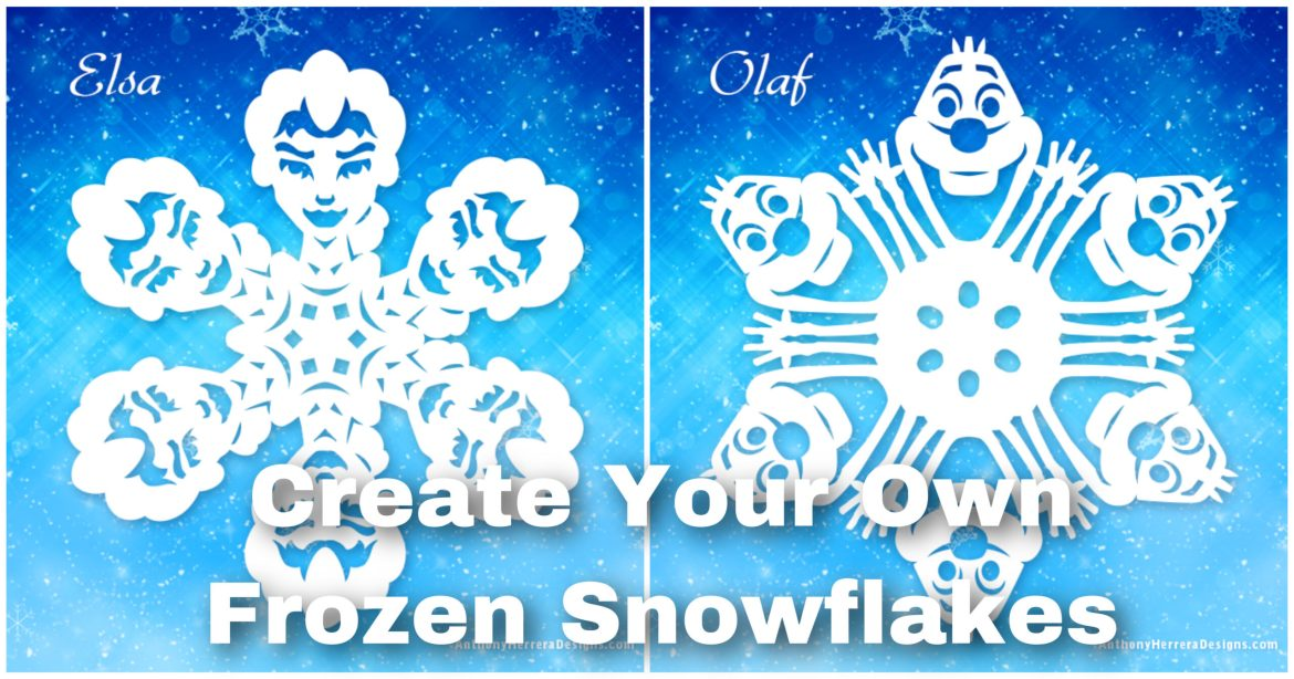 Make Your Own Frozen-Inspired Paper Snowflakes
