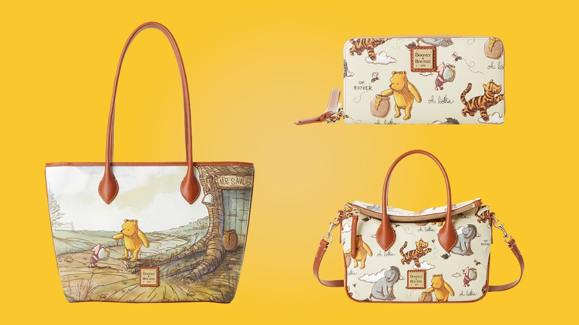 Classic Winnie The Pooh Dooney And Bourke Collection Coming Soon