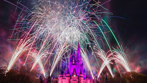 Celebrate the New Year with Special Viewing of 'Fantasy In the Sky' Fireworks from Walt Disney World