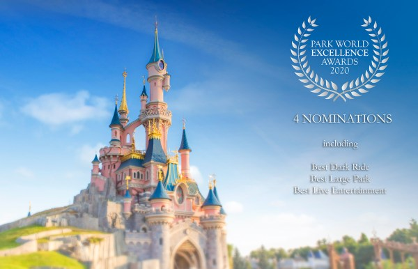Disneyland Paris wins at the European Stars Award and shortlisted for other Awards 2