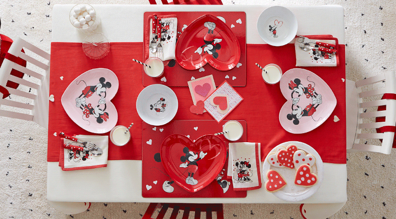The Disney Valentines Day Pottery Barn Collection Is So Dreamy