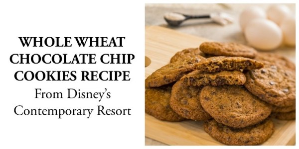 Whole wheat chocolate chip cookies recipe