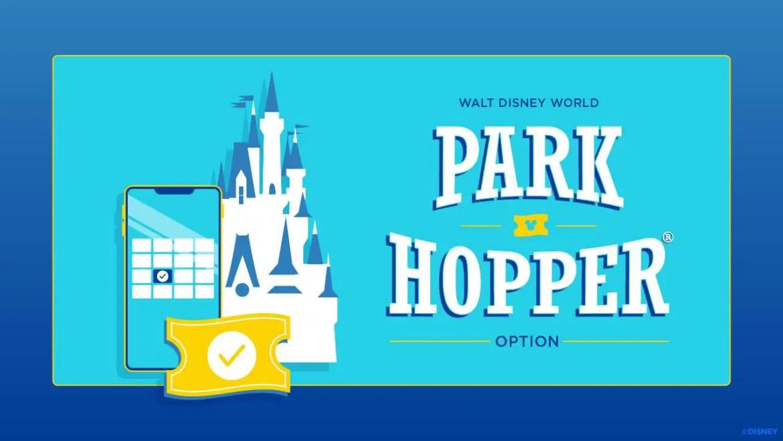 Park Hopper Hours now showing on Disney World Calendar