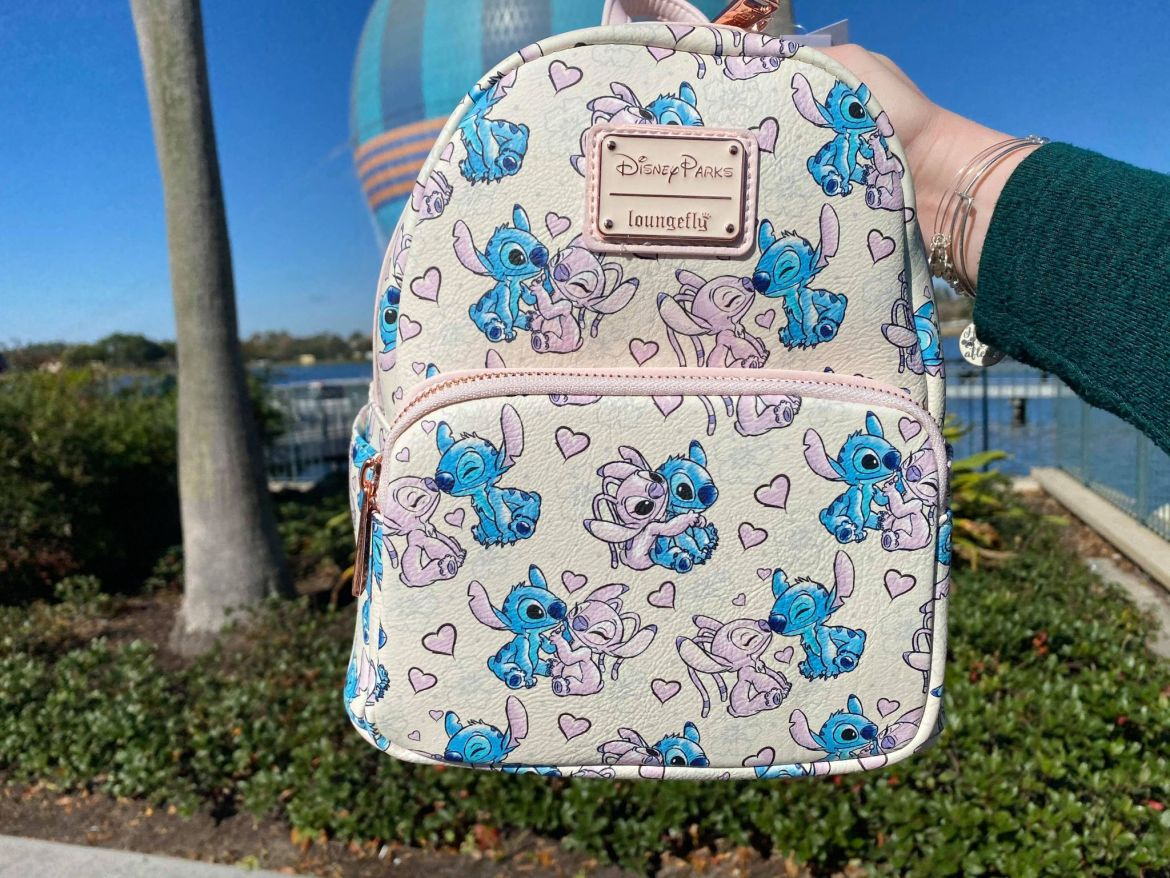 Lovely New Stitch and Angel Loungefly Backpack at Disney Springs