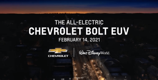 chevrolet disney world bolts
