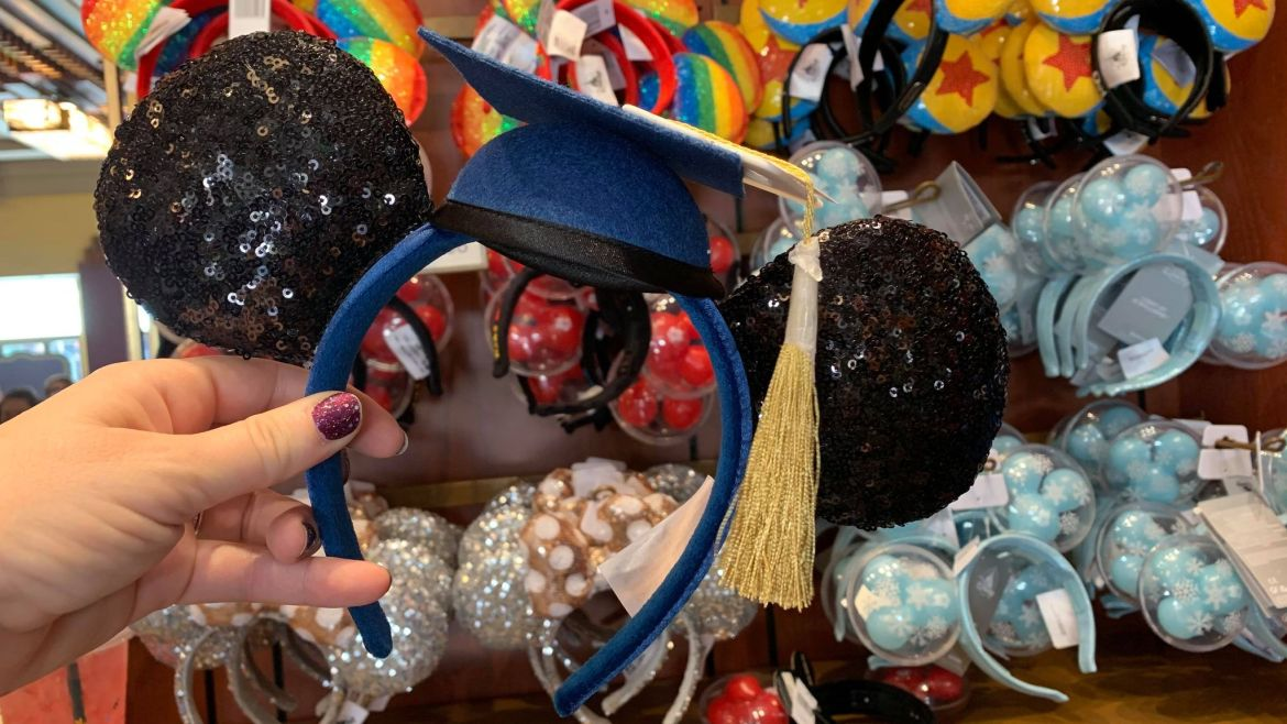 New 2021 Graduation Mickey Ears Are Now Available!