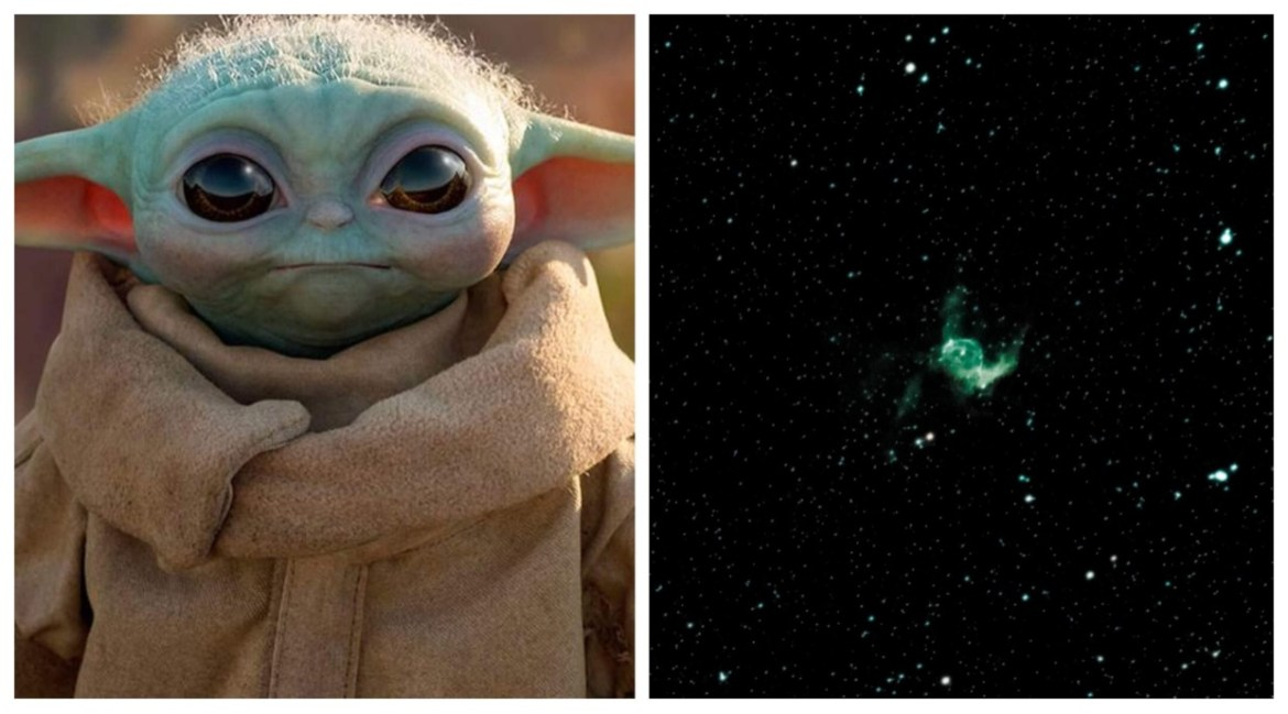 A Nebula has been named after Baby Yoda!