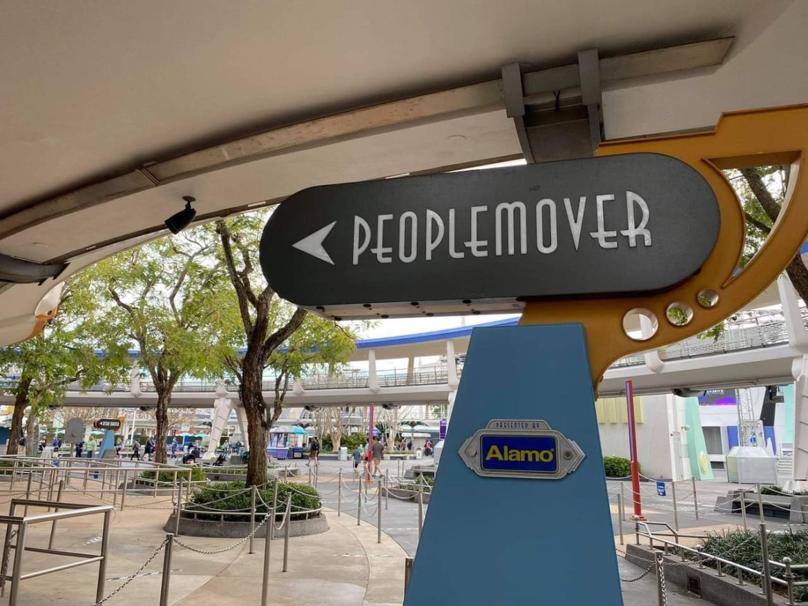 Tomorrowland Transit Authority PeopleMover Refurbishment extended till the end of February