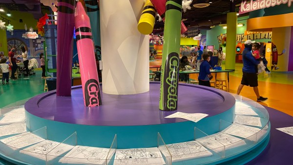 Crayola experience coloring pages
