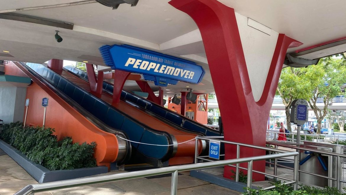 Tomorrowland Transit Authority PeopleMover refurbishment extended AGAIN…