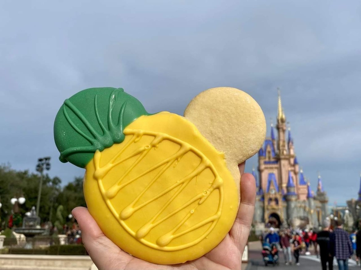 New Pinapple Treats in the Magic Kingdom taste like a Dole Whip
