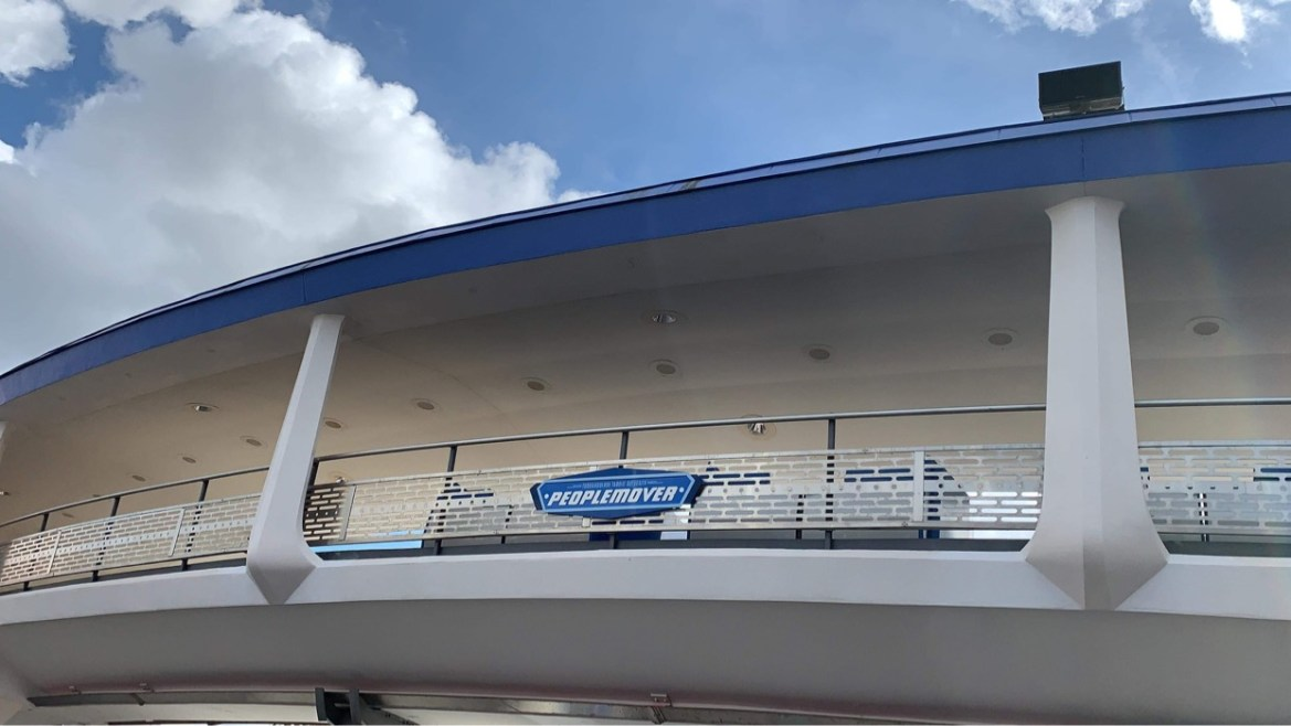 Tomorrowland Transit Authority PeopleMover in the Magic Kingdom is being tested