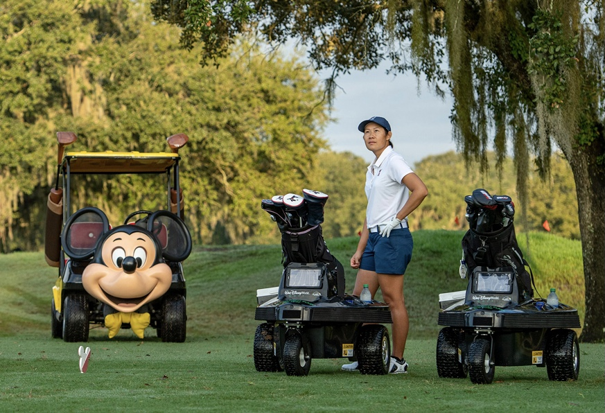 Robo Golf Carts Have Arrived at Walt Disney World Golf Courses