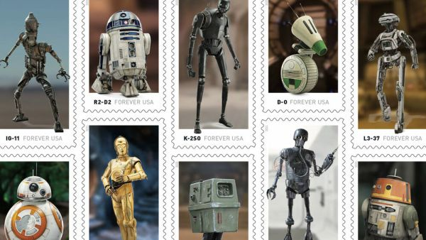 Star Wars Stamps