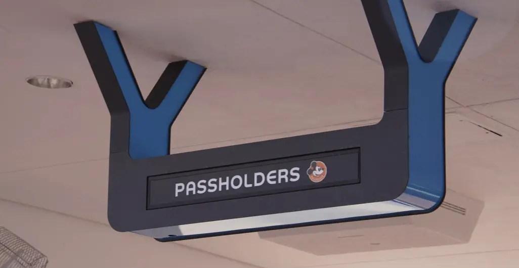 New Designated Annual Passholder Entrance in Epcot