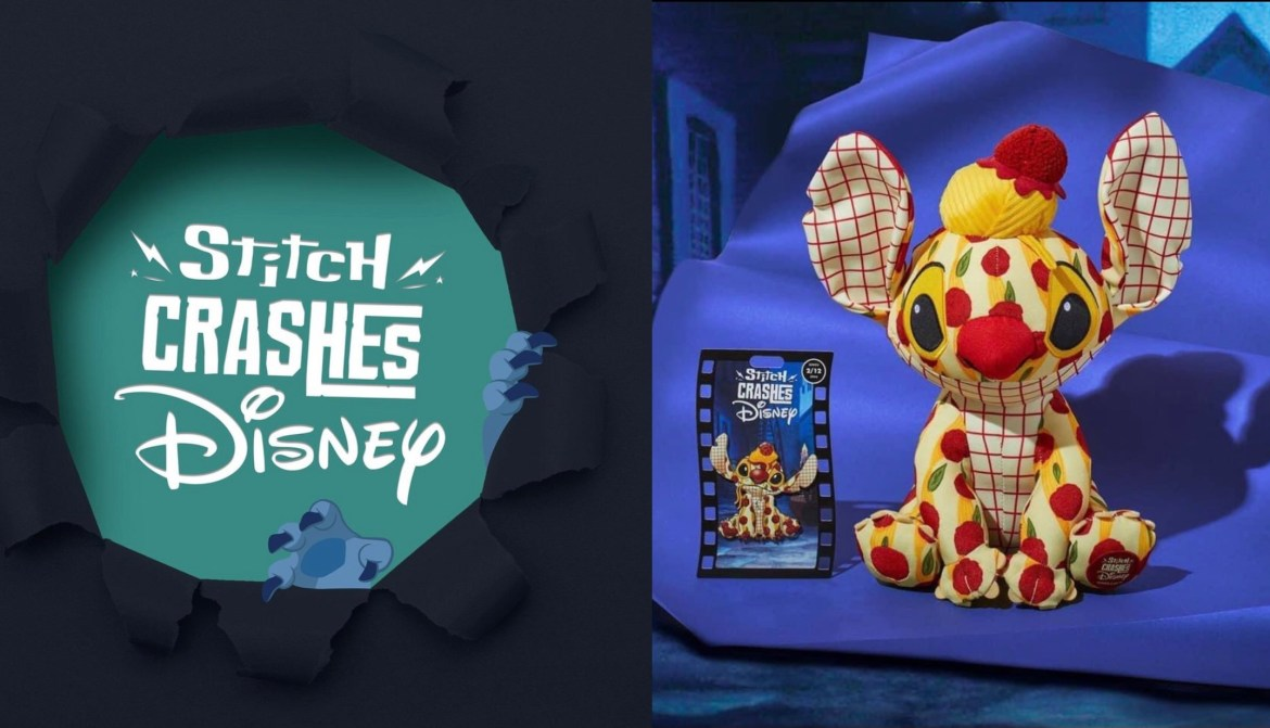 First Look at the Stitch Crashes Disney February Collection