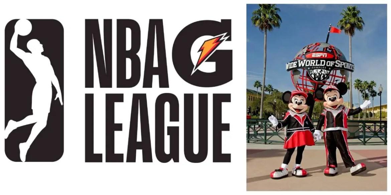NBA G League possibly coming to Walt Disney World for 2021 Season