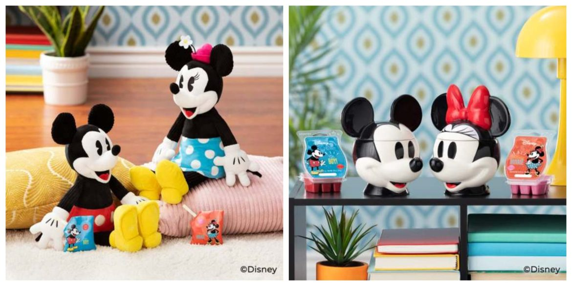 New Mickey & Minnie Classic Scentsy Collection Coming Soon