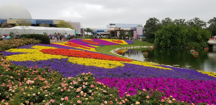 2021 Taste of Epcot International Flower & Garden Festival – Topiaries & Gardens