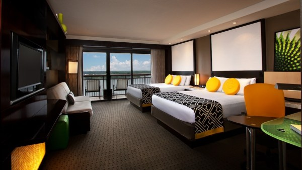 Contemporary Resort room