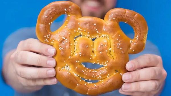 Mickey pretzel recipe