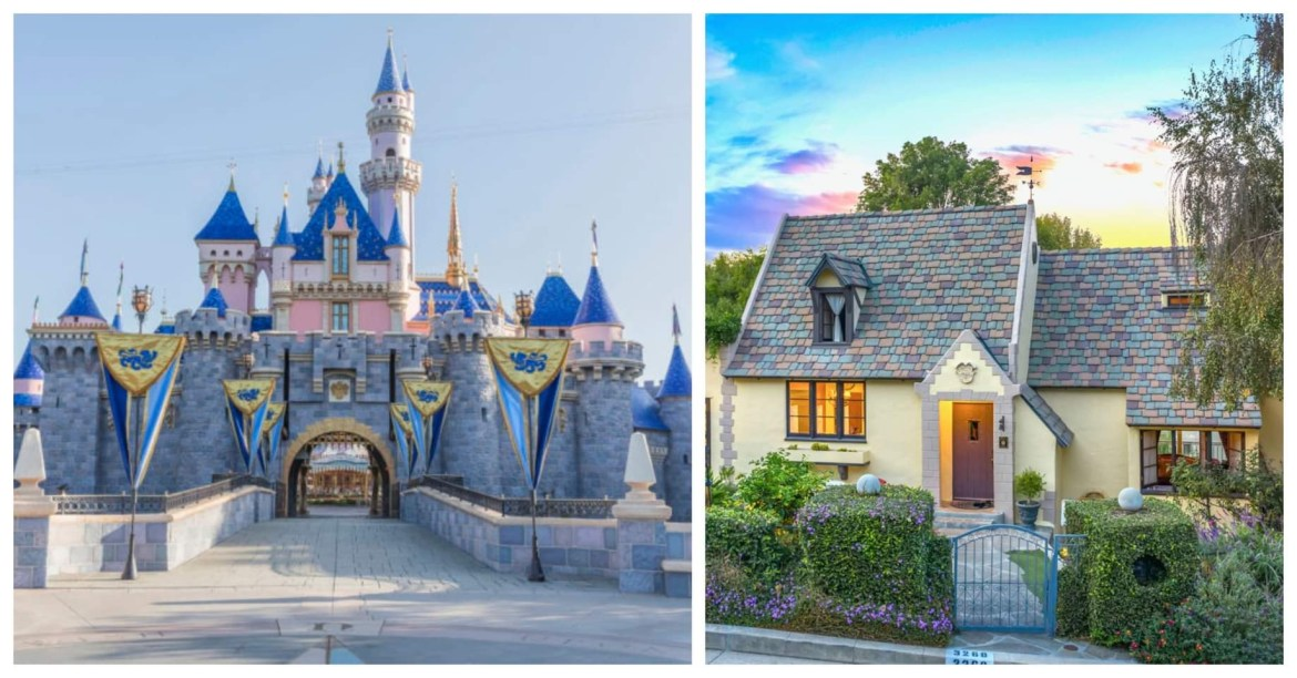 Original Sleeping Beauty Castle designer lists Hollywood home for sale
