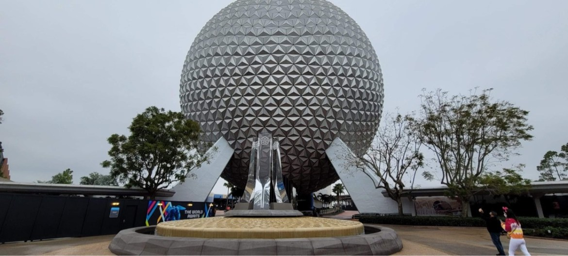 Permiits filed for Spaceship Earth lighting show