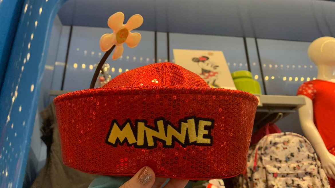New Vintage Minnie Mouse Hat Sparkles Into Walt Disney World