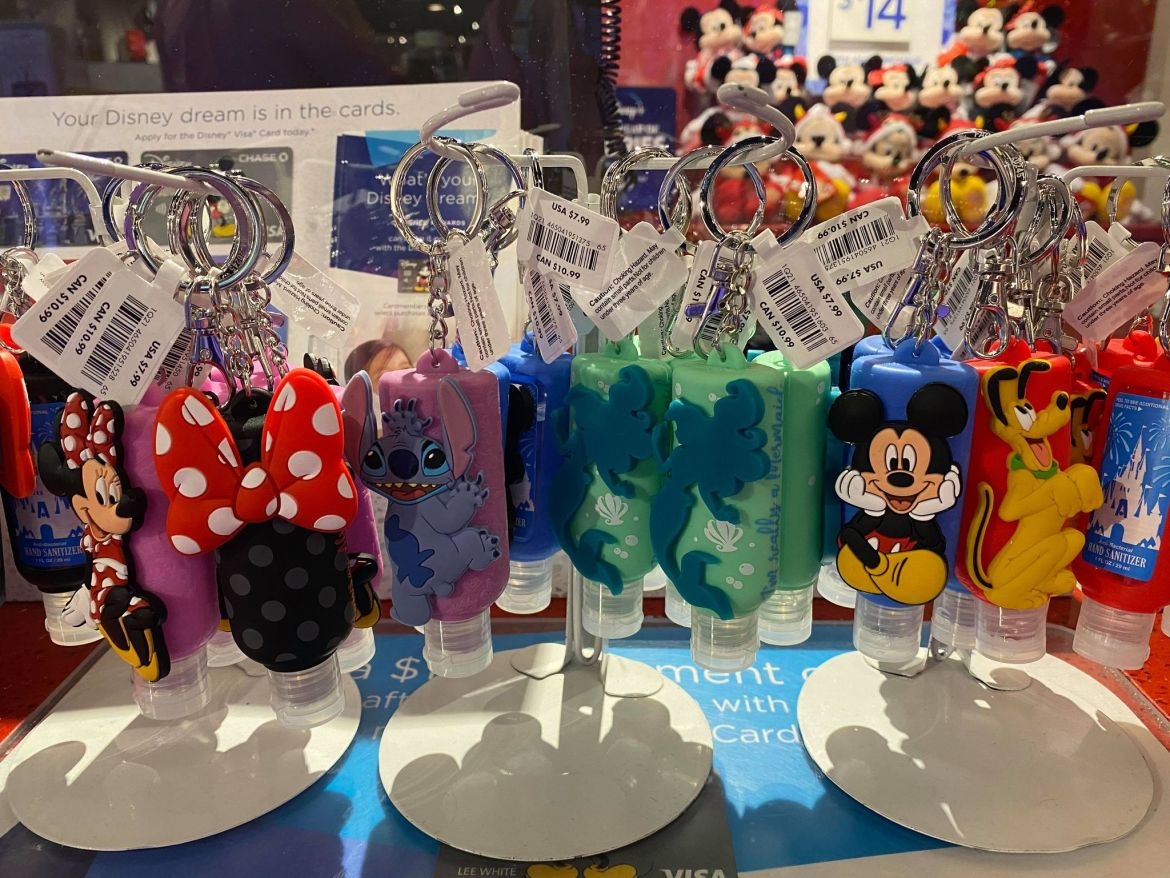 Find Cute Disney Hand Sanitizers At Your Local Disney Store!