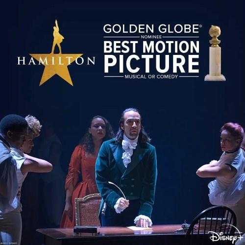 Disney+ Receives Golden Globe Nominations for 'Hamilton,' 'The Mandalorian,' and 'Soul' 4