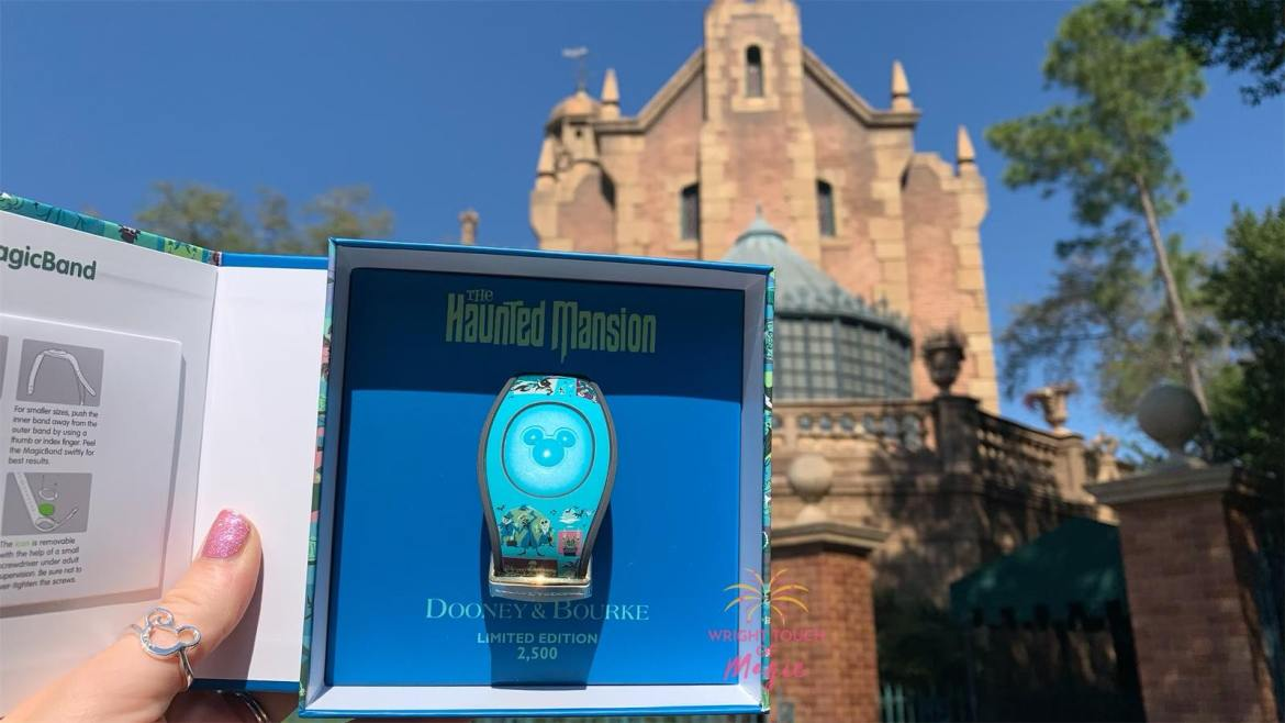 New Dooney & Bourke Haunted Mansion Magic Band materializes at the Magic Kingdom