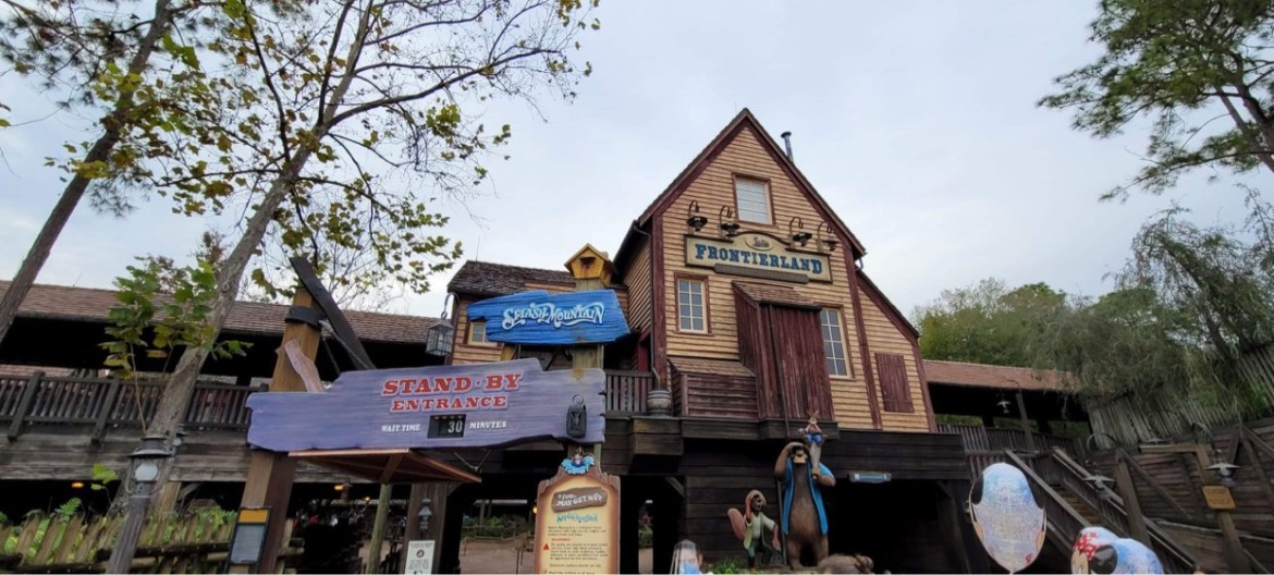 New Permit filed for construction on Splash Mountain