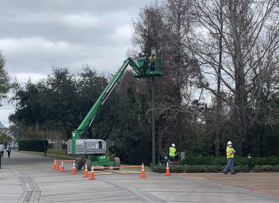 New 5G Cellphone Towers Being Installed at Epcot Area Resorts