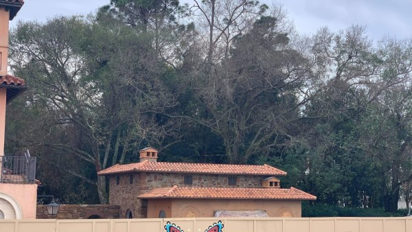 La Gelateria in Epcot's Italy Pavilion is Almost Complete 1