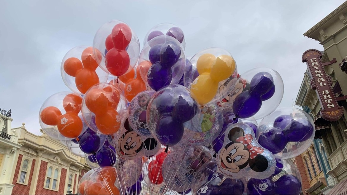 New Mickey Balloon Colors spotted at Disney World