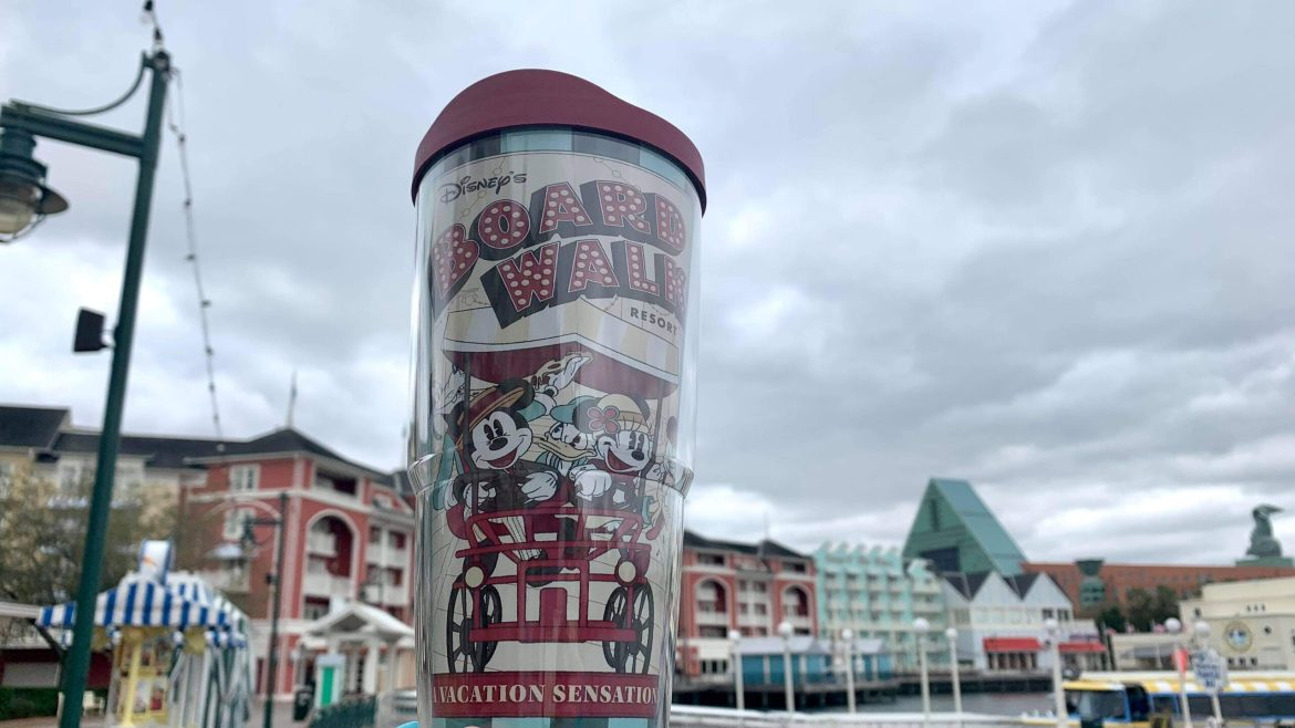 Sippin' & Strollin' with This New Disney Boardwalk Tervis Tumbler
