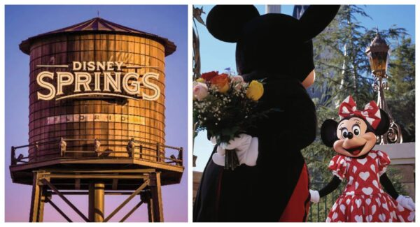 Valentine's Day Disney Springs