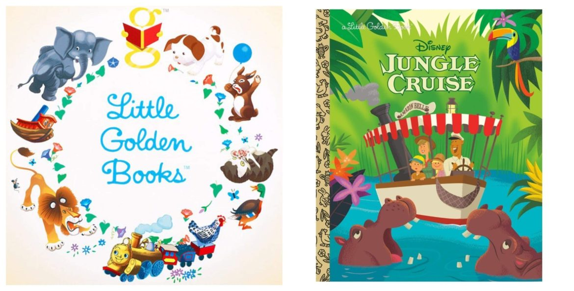 Jungle Cruise Disney Golden Book Now Available for Preorder