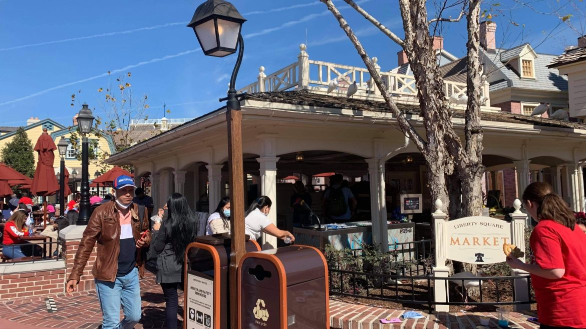 Liberty Square Market Officially Reopens in the Magic Kingdom
